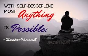 Self Discipline 5-21-17